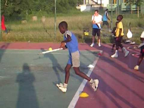Africa Tennis Aid: Making a Racket
