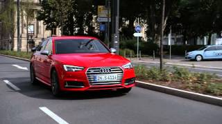 2016 Audi S4 Sedan video debut(The heart of the S models is a newly developed V6 engine with petrol direct injection and turbocharging. The 3.0 TFSI has an output of 260 kW (354 hp); its 500 ..., 2015-09-15T08:53:57.000Z)