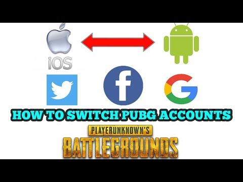 HOW TO SWITCH PUBG ACCOUNTS | ANDROID TO IOS | GOOGLE IN IOS