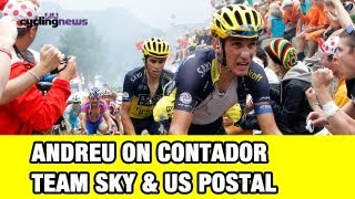 Tour de France 2013: Frankie Andreu on Contador, Sky and US Postal Comparisons