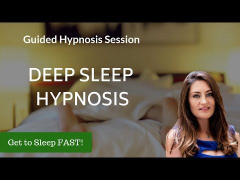 Hypnosis for Deep Sleep (Get to sleep FAST!)