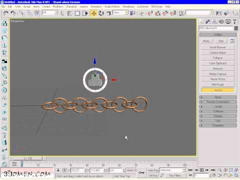 Анимация, рендер v-rey жилового комплекса в 3dmax