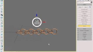 Твёрдые тела в 3Ds Max. Анимация цепи c помощью модуля Reactor