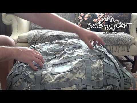 ACU MOLLE II: How To Set Up The Main Pack