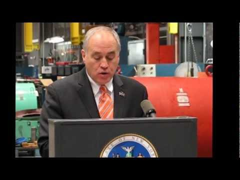 New York State Comptroller Tom DiNapoli announces investment in Auburn Armature