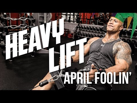 "Thumbnail: HEAVY LIFT - Goofs, Gaffs, & Laughs with Dwayne ""The Rock"" Johnson"