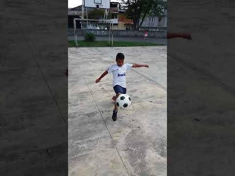 Johan David Rojas demostrando su talento