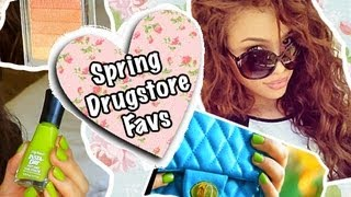 Favorite Spring Drugstore Items! | AndreasChoice Thumbnail