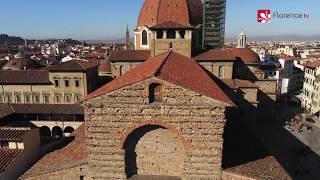 DRONE | In volo su San Lorenzo e San Marco a Firenze