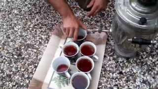 Mursalovun samovar çayı