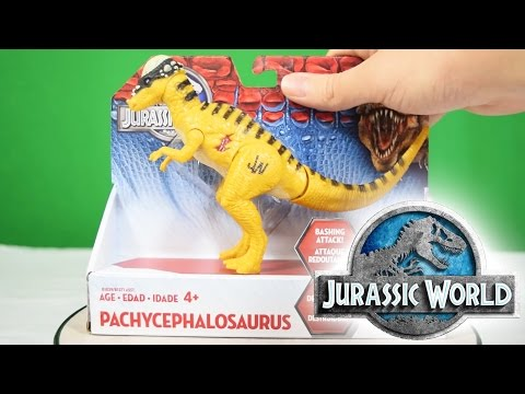 JURASSIC WORLD® | Pachycephalosaurus | Unboxing & Review Hasbro® Bashing Attack