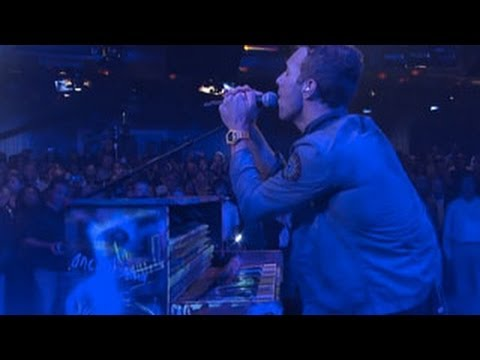 Coldplay  Clocks   Letterman
