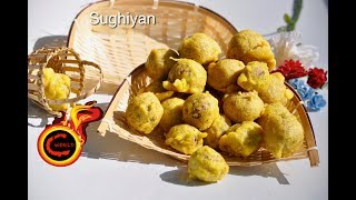 Sughiyan -ഓര്മകളുണർത്തും ചില്ലുകൂട്ടിലെ  ഒരു നാടൻ പലഹാരം  || Healthy Version -|Atta Sukhiyan|Ep 278