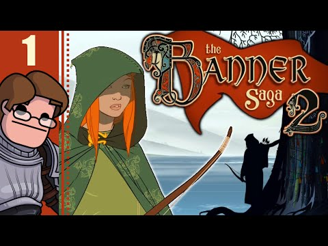 Let's Play The Banner Saga 2 Part 1 - Chapter 8: From Their Homes Must All Flee (Alette Playthrough)