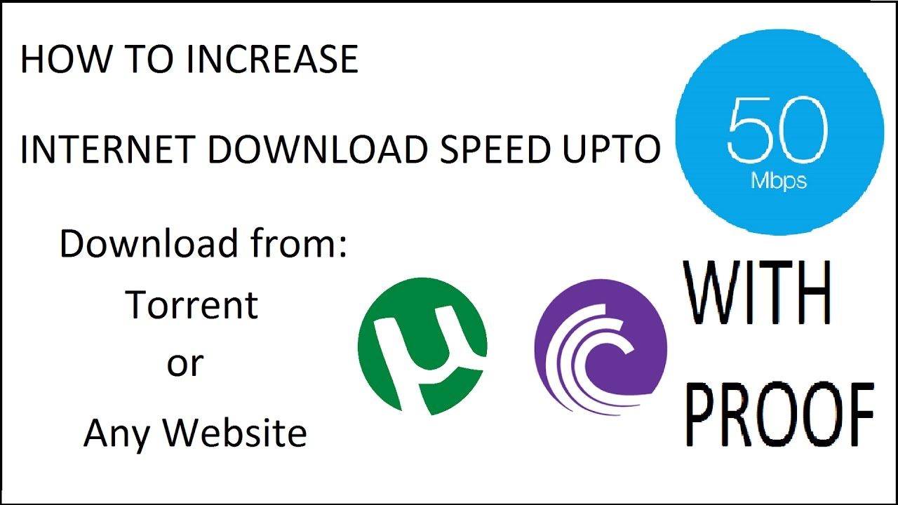 How to increase dc download speed
