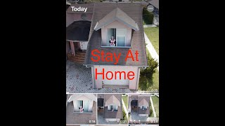 I stay at home (drone fly)