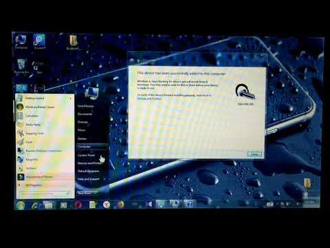 Bluetooth headphones not detected windows 7