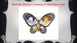 Butterfly Tattoo Designs: Transformation, Joy, Beauty and Love
