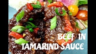 BEEF IN TAMARIND SAUCE / COOKING IN ISOLATION