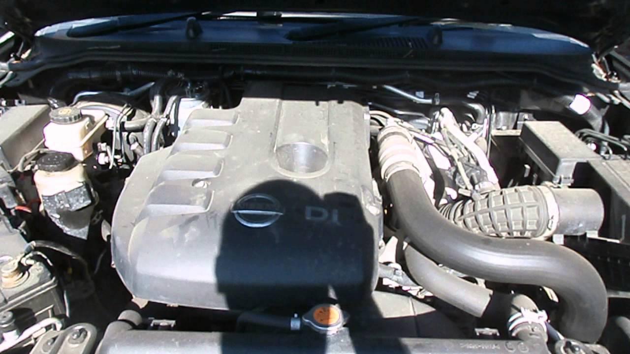 Wrecking 2008 Nissan Navara D40 Diesel 2 5 Yd25 Turbo