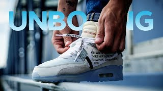 "Unboxing и обзор коллаборации Off-White x Nike AirMax 90 ""The Ten"""