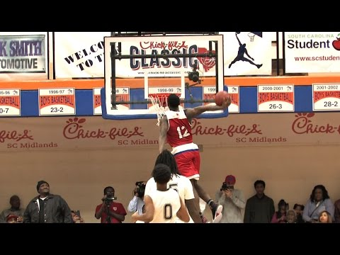 Zion Williamson 53 Points vs. Jalek Felton!! Chick Fil A Classic 2016