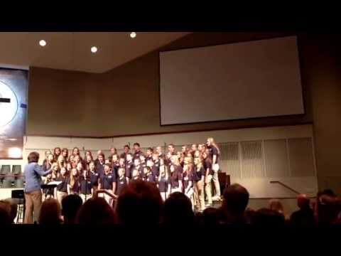 Wade in the Water by Palmetto Christian Academy middle school choir show 2014