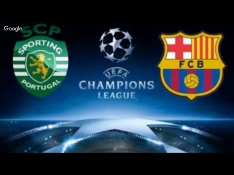 SPORTING LISBOA 0 x 1 BARCELONA - EN VIVO - RADIO -  Champios League - Narracion