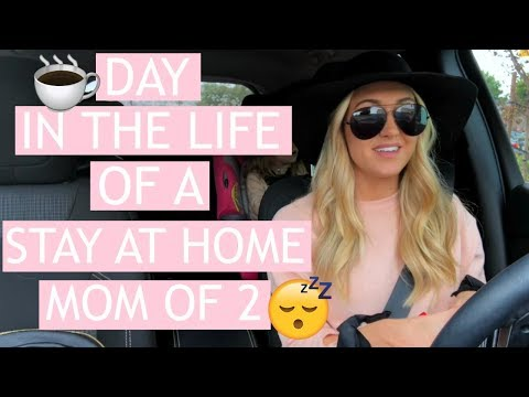 DAY IN THE LIFE OF A STAY AT HOME MOM 2018 | COOKING, CLEANING, RUNNING ERRANDS | Tara Henderson