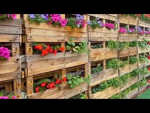 Come usare i pallet per fare una fioriera o un orto i for Idee per realizzare una fioriera