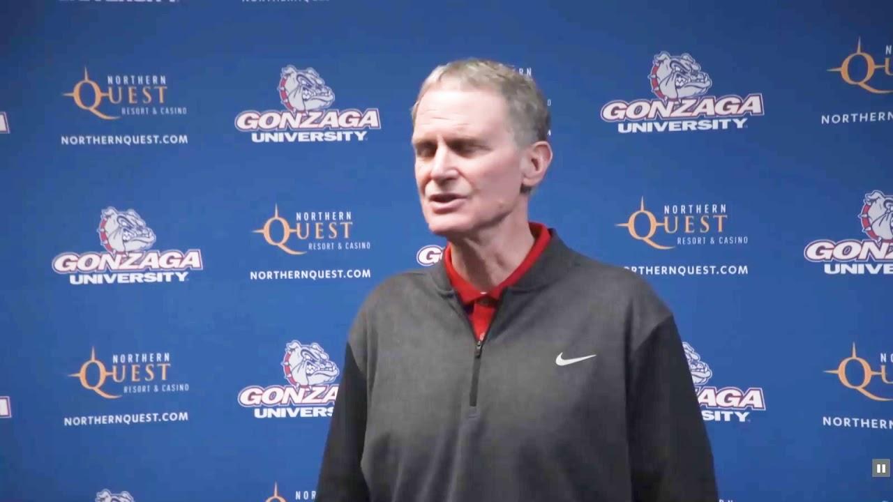 Gonzaga Athletic Director Reaction 2020-03-13