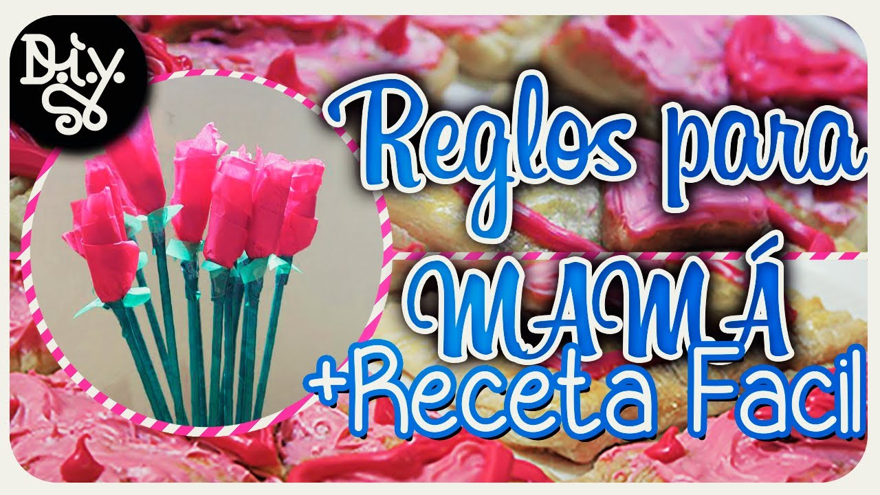 Regalos para mam diy receta facil youtube for Ideas para mama