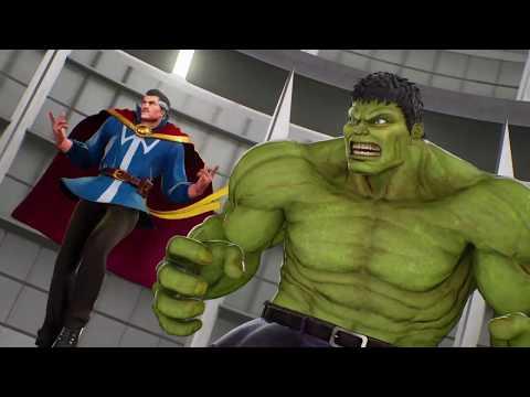 X Dormammu VS Hulk Doctor Strange