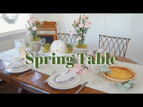 THE SPRING TABLE 🌷 | DECOR + BRUNCH IDEAS | EASTER, MOTHER'S DAY, SHOWER