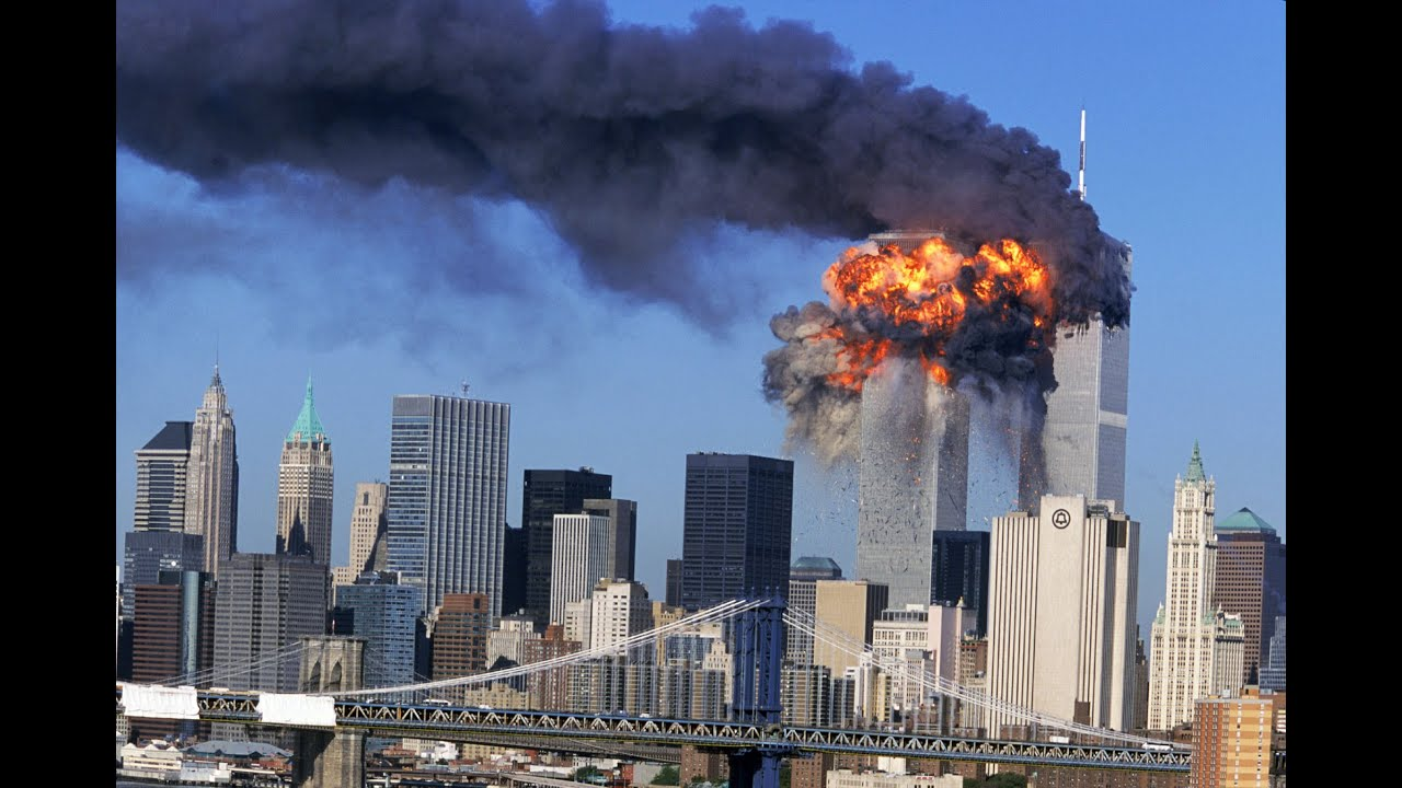 9 11 World Trade Center Attack Real Footage