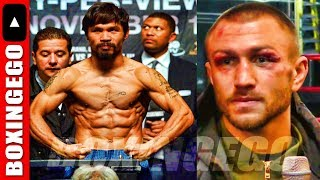"""*FOLLOW UP* LOMACHENKO SAID MANNY PACQUIAO WAS """"TOO OLD"""" PAST IT? LOMA-PAC NOW?