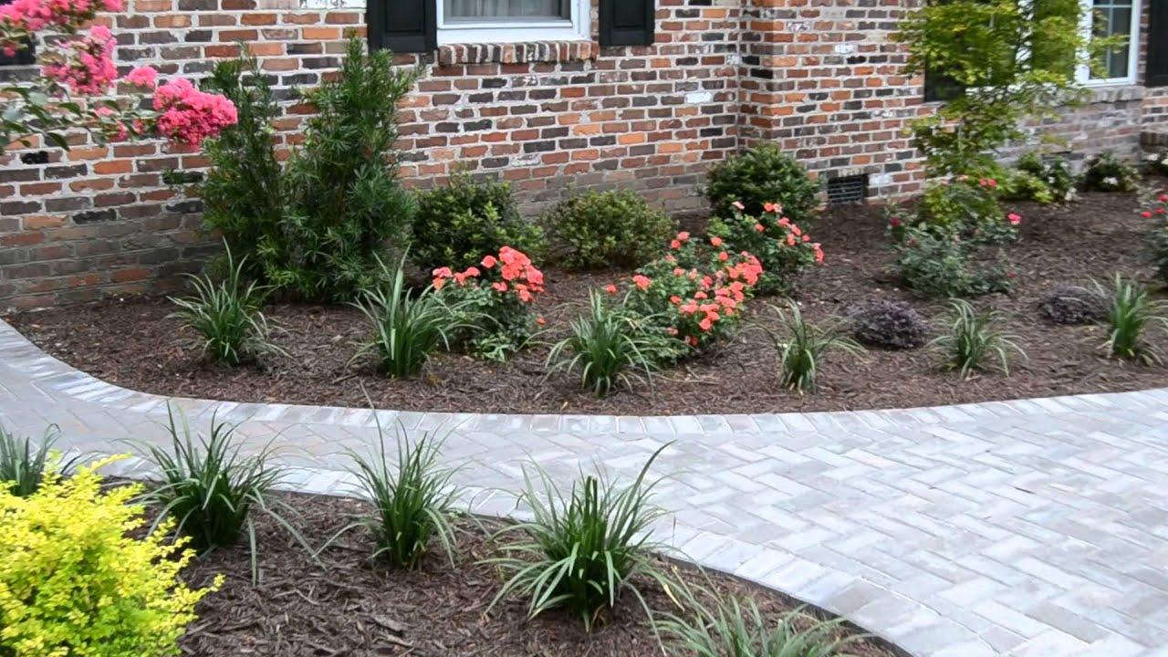 Landscape Design U0026 Installation  Brick Home Charleston, SC