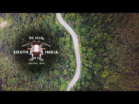 South India Tourism - Bike Trip - The Bear India Tour 2018 - Trailer