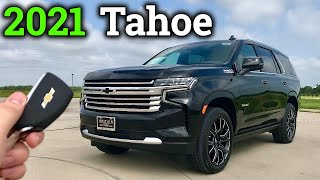 Detailed Review: 2021 Chevy Tahoe High Country 6.2L V8