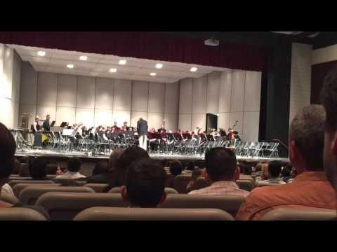 Upper Saint Clair High School Wind Ensemble performance 14th March 2016