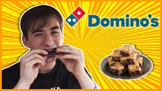 Domino's Marble Cookie Brownie-the Food Review-ep.83