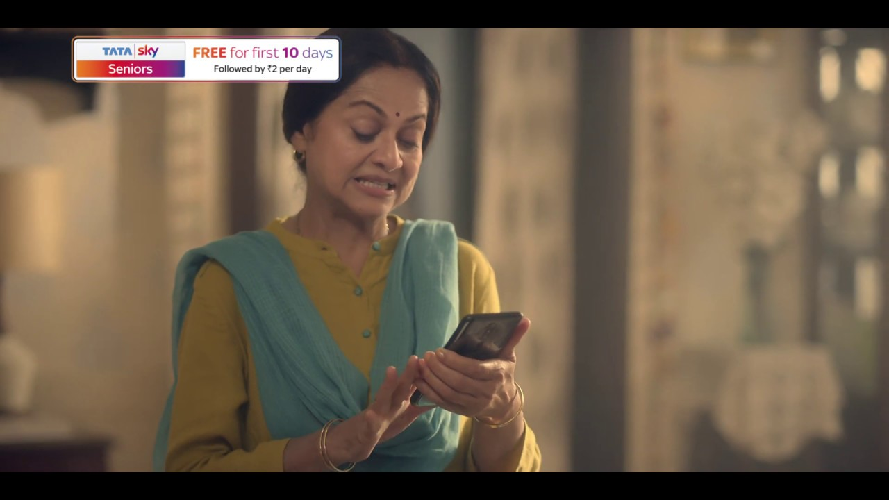 Tata Sky Seniors Services | Get Digital Education Tips from Experts On Your TV - Hindi - (60s)