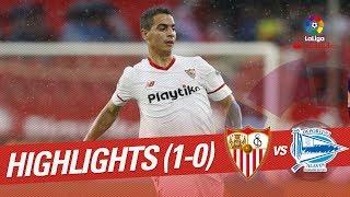 Resumen de Sevilla FC vs Deportivo Alavs 1-0