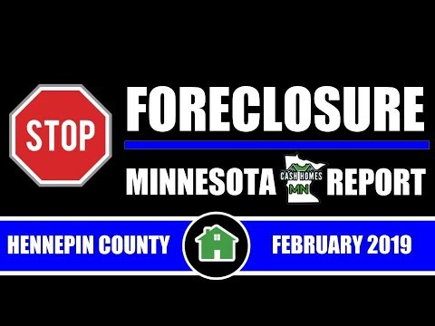 Stop Foreclosure MN Report | HENNEPIN COUNTY | FEBRUARY 2019