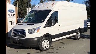 2019 Ford Transit Cargo Van W/ Backup Camera Review| Island Ford