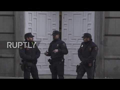 Spain: Catalan leaders arrive for trial over 2017 independence bid