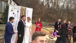 На свадьбе Ольги Мартыновской