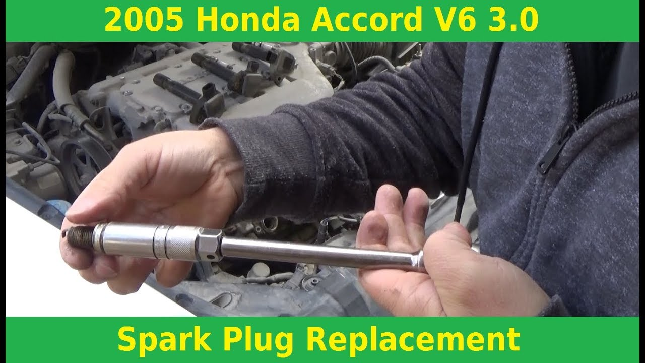 2005 Honda Accord V6 3 0 Spark Plugs Replacement Automotive Education