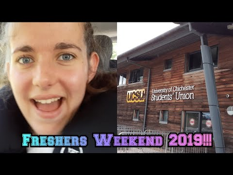 Moving In And Arrival Weekend At The University Of Chichester 2019