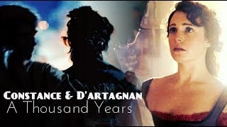 Constance & D'artagnan || A Thousand Years (1x07)